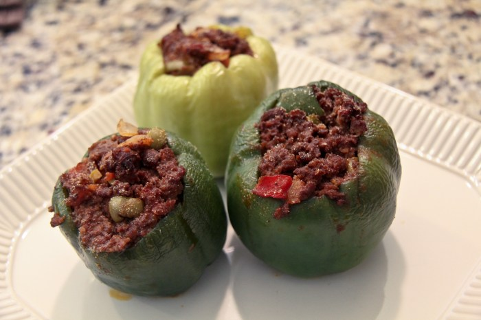 Spicy Stuffed Peppers (Paleo)