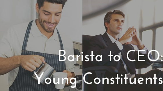 Barista to CEO-Young Constituents