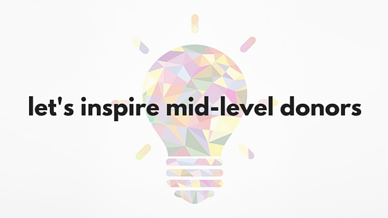 let's inspire mid-level donors