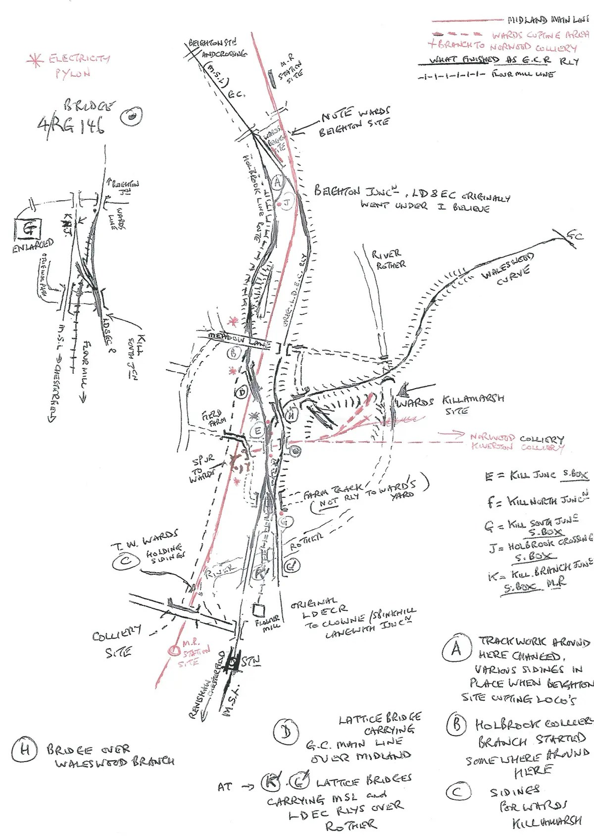 Lner A1 Class 4 6 2 S Including Sketch Of Beighton And Killamarsh What Happened To Steam