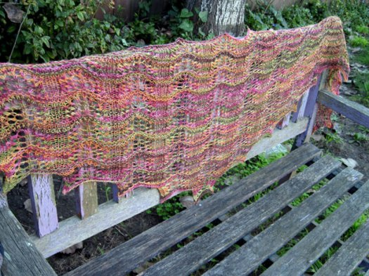 Colorful shawl