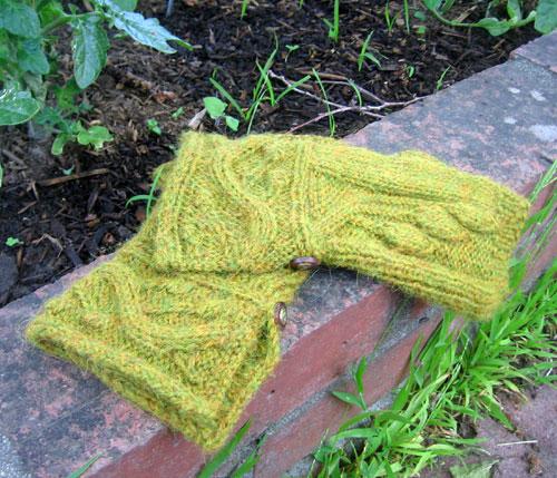 Green  handwarmers