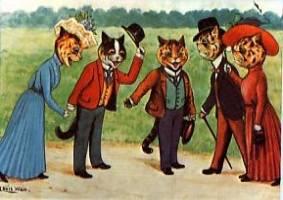 anthropomorphic cats