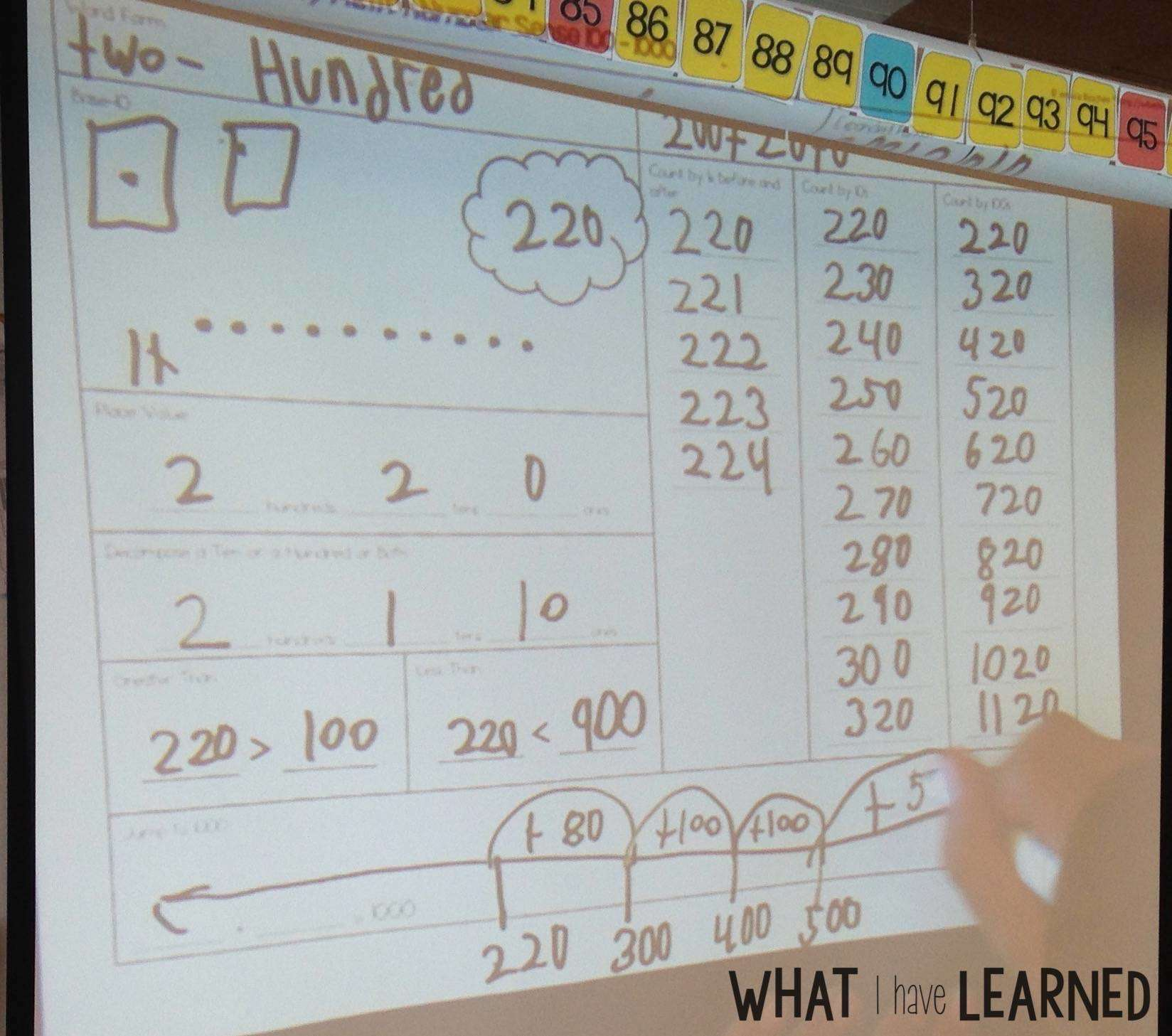 hight resolution of Daily Math - A number routine to practice key math concepts