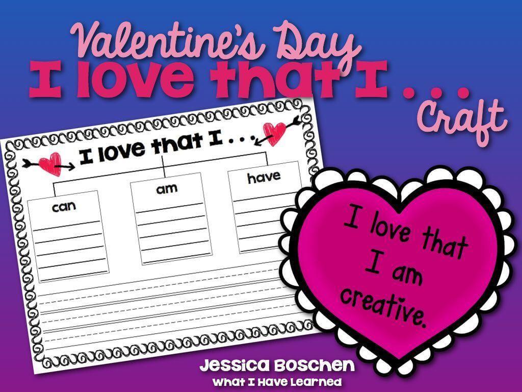 Valentine's Day Classroom Activity [ 768 x 1024 Pixel ]