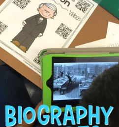 Teach Students to Write Biography Reports [ 1128 x 735 Pixel ]