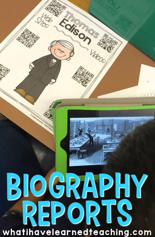 small resolution of Teach Students to Write Biography Reports