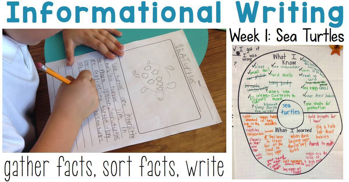 Third Grade Writing Examples