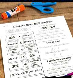 Cut \u0026 Paste Math Activities for Every Second Grade Standard [ 1500 x 1000 Pixel ]