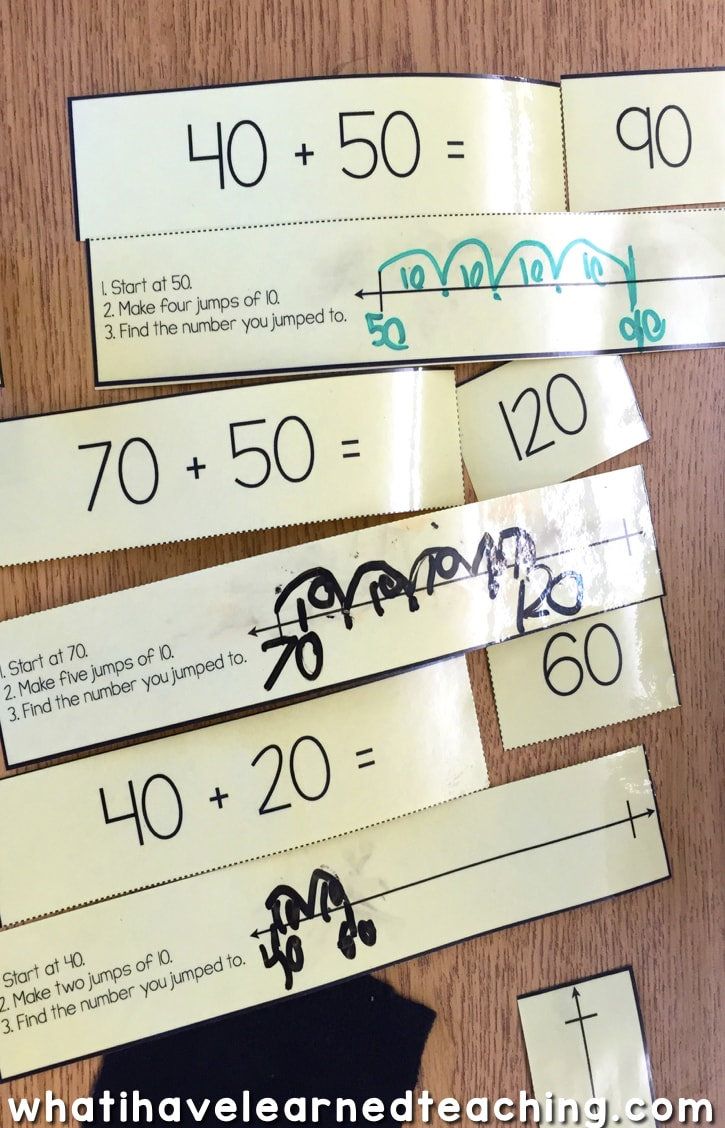 small resolution of Two-Digit Addition Activities for Math Stations