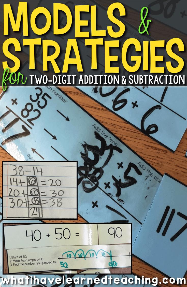 medium resolution of Models \u0026 Strategies for Two-Digit Addition \u0026 Subtraction