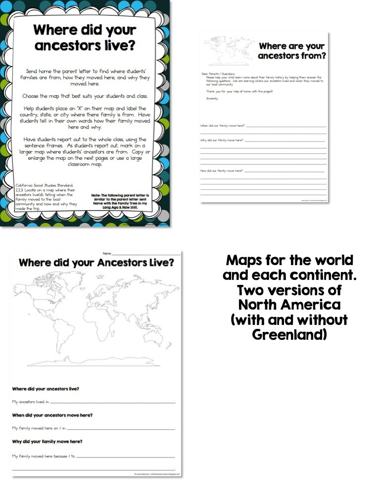 Map Skills & Location {Social Studies Unit} • What I Have