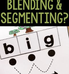 Tips for Student Success When Blending and Segmenting Words [ 1128 x 735 Pixel ]