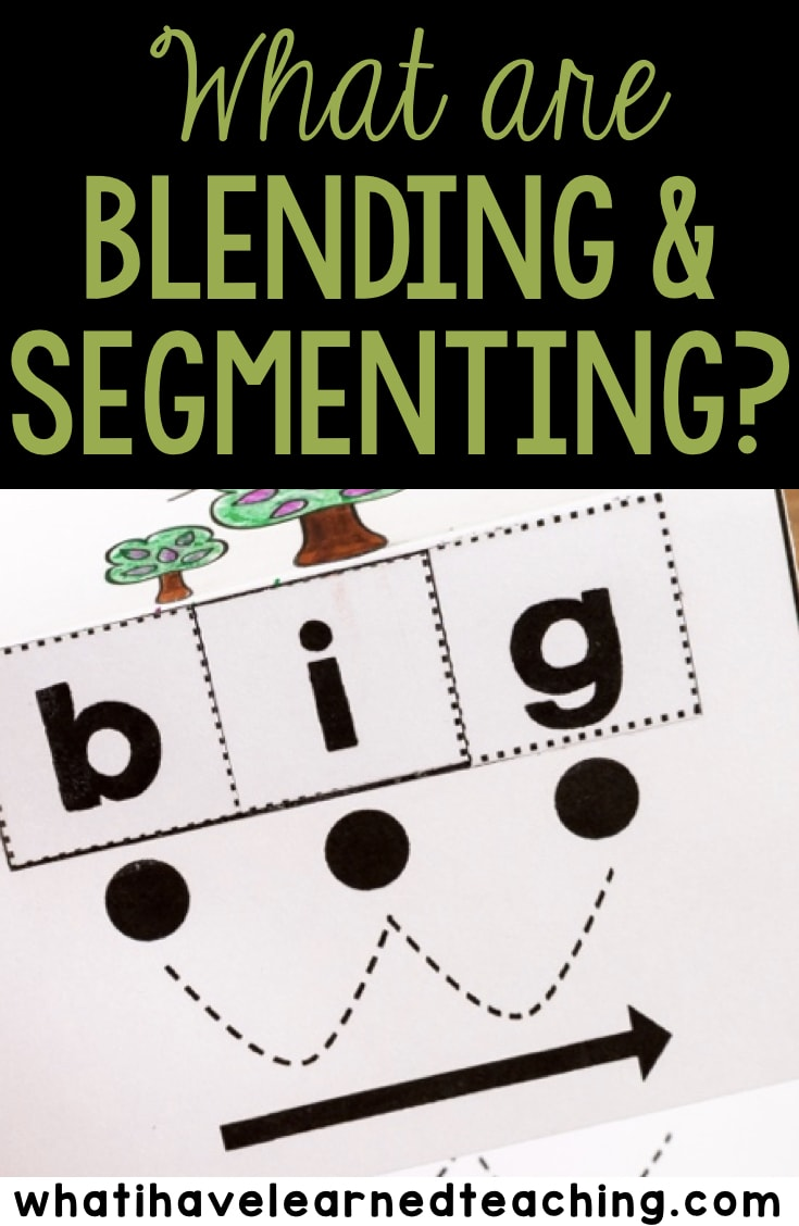 hight resolution of Tips for Student Success When Blending and Segmenting Words