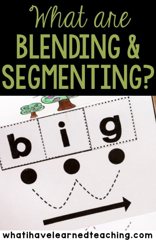 small resolution of Tips for Student Success When Blending and Segmenting Words