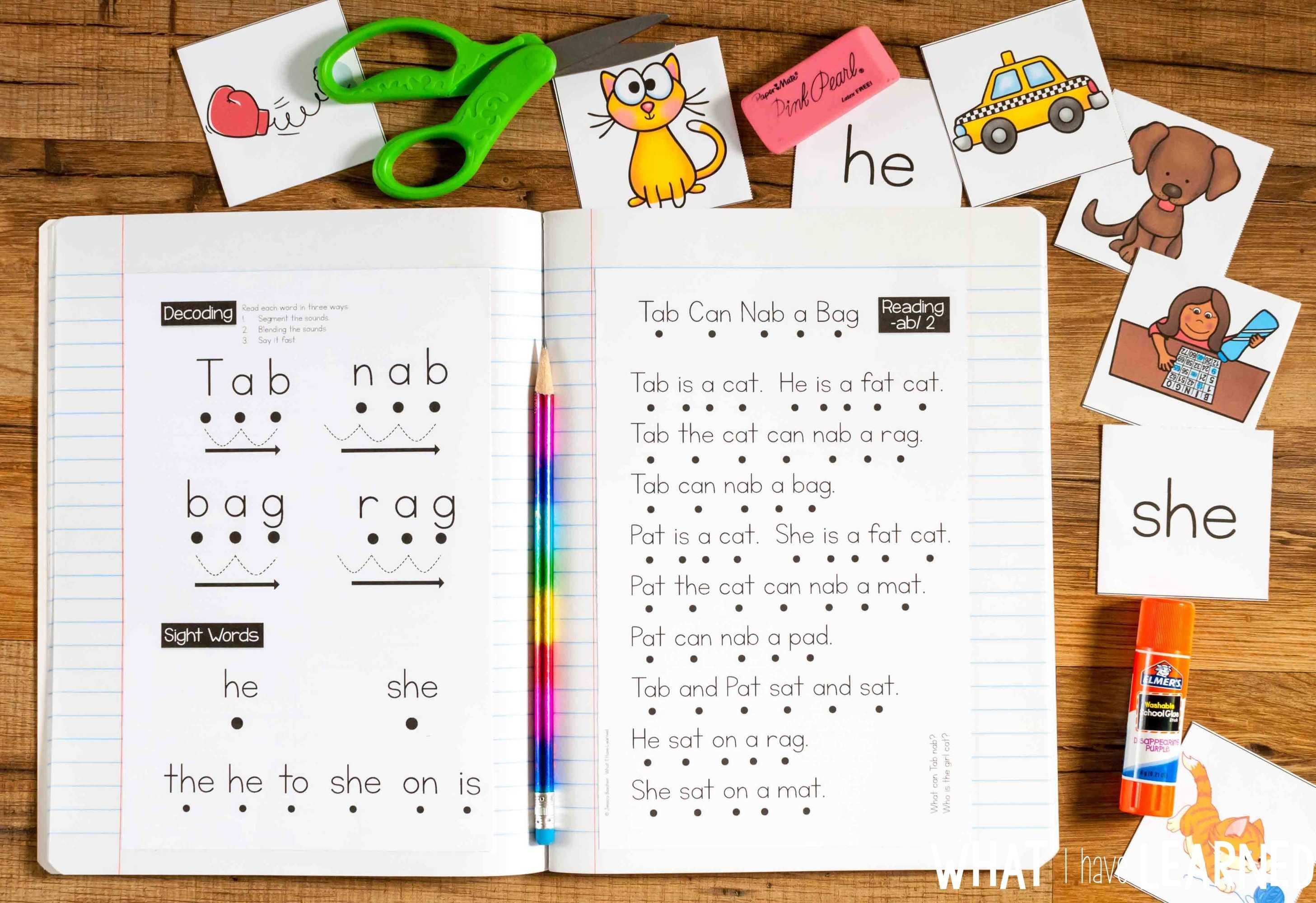 Phonics Passages By Word Family
