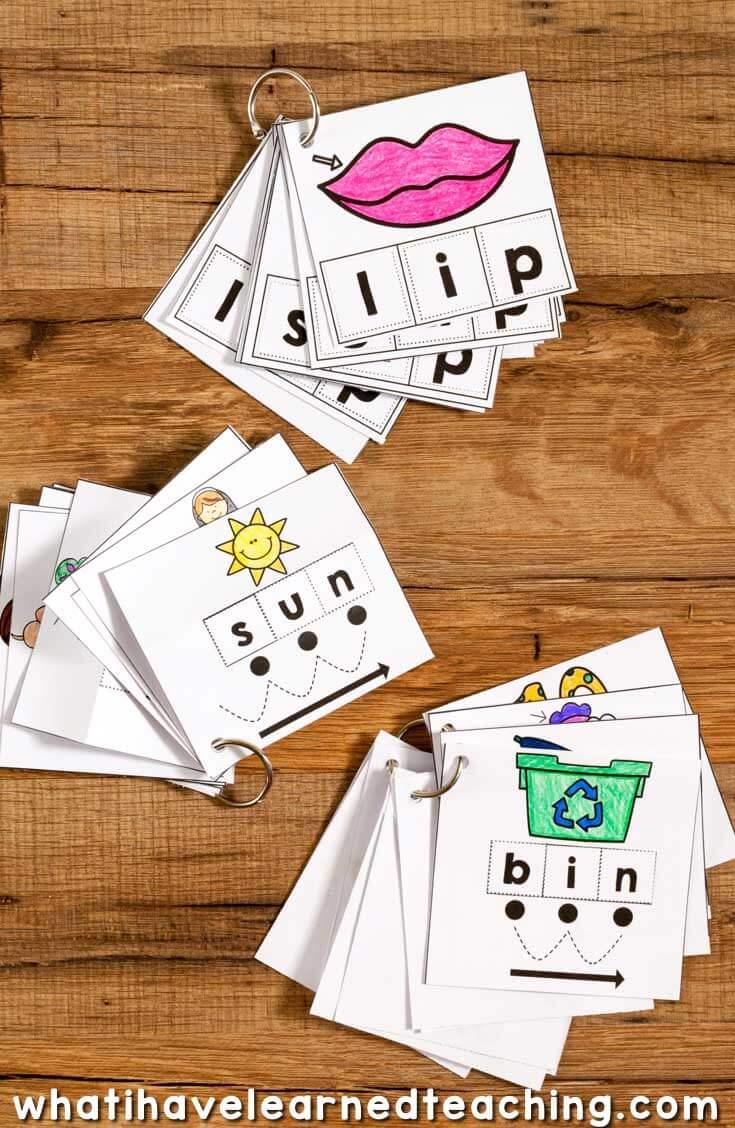 CVC Cut \u0026 Paste Worksheets \u0026 Phonics Cards [ 1128 x 735 Pixel ]