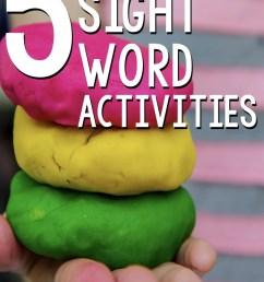 5 Hands-On Sight Word Activities for Kindergarten [ 1128 x 735 Pixel ]