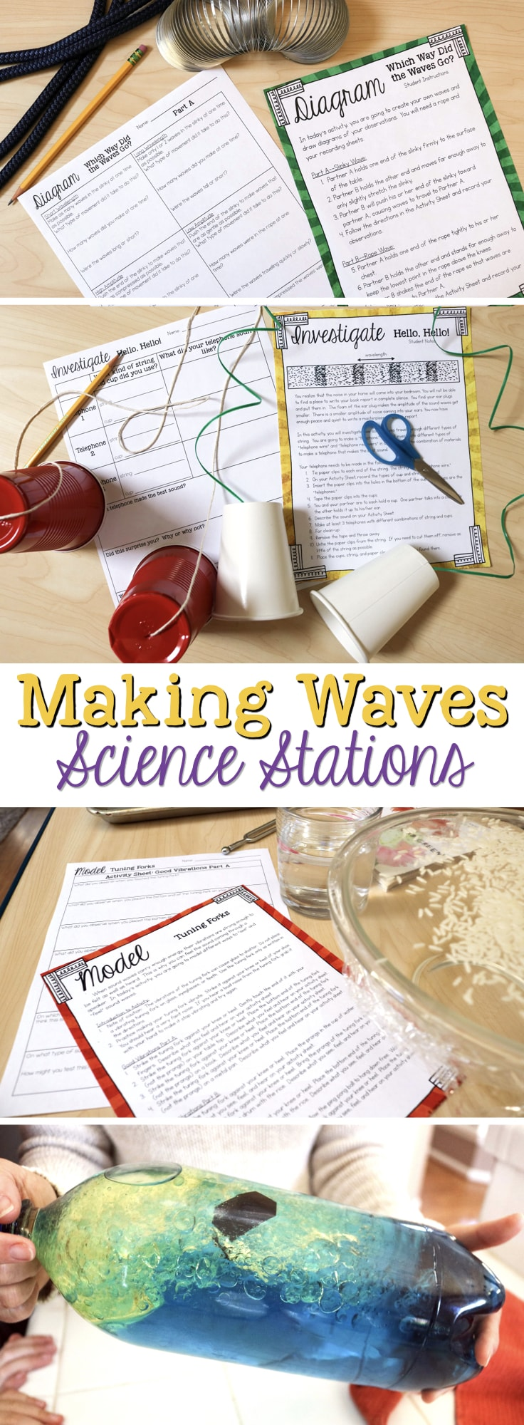 hight resolution of Making Waves: Sound Wave Properties Fourth Grade Science Stations