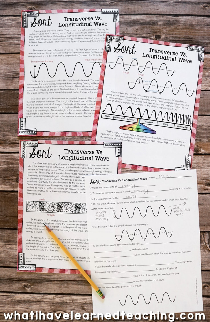 Making Waves: Sound Wave Properties Fourth Grade Science Stations [ 1128 x 735 Pixel ]