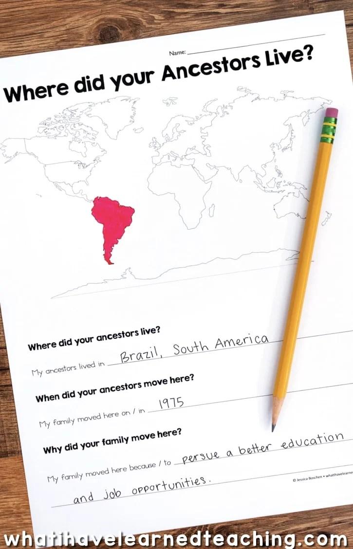 Map Skills \u0026 Location Social Studies Unit [ 1128 x 725 Pixel ]