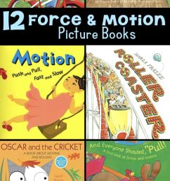 12 Force and Motion Picture Books to Engage Young Learners [ 1435 x 680 Pixel ]