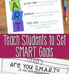 Teach Elementary Students to Set SMART Goals [ 1428 x 680 Pixel ]