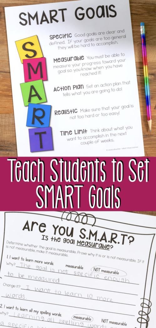small resolution of Teach Elementary Students to Set SMART Goals