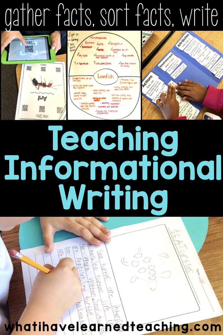 medium resolution of Informational Writing Overview