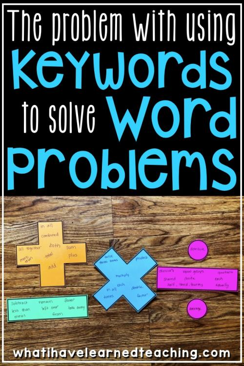 small resolution of The Problem with using Keywords to Solve Word Problems