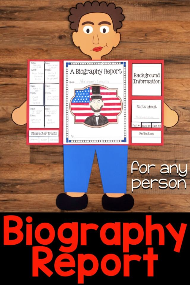 Biography Research Report for Any Person