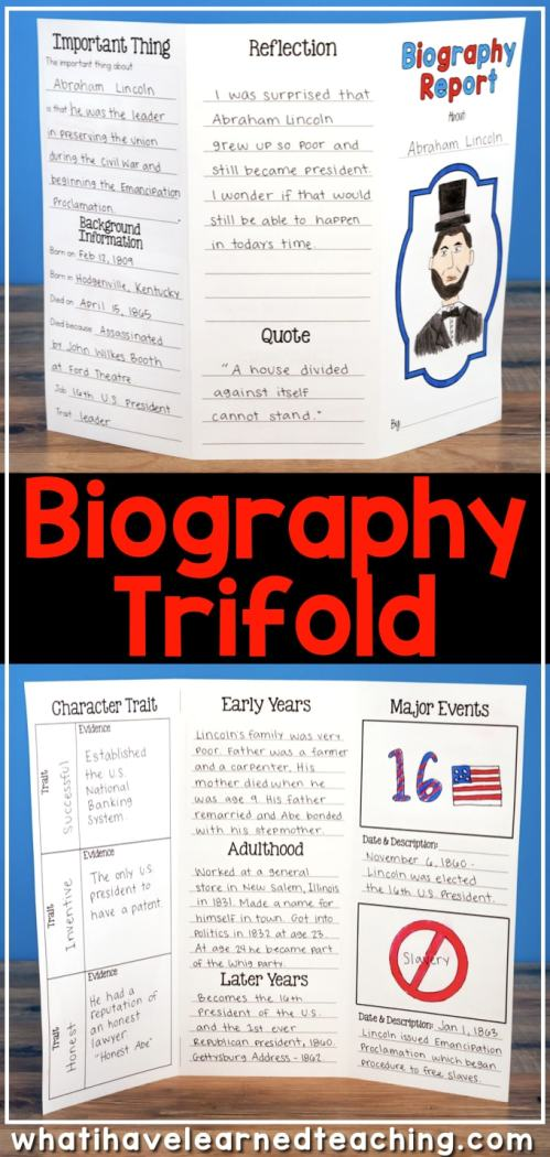 small resolution of Biography Report for ANY Person