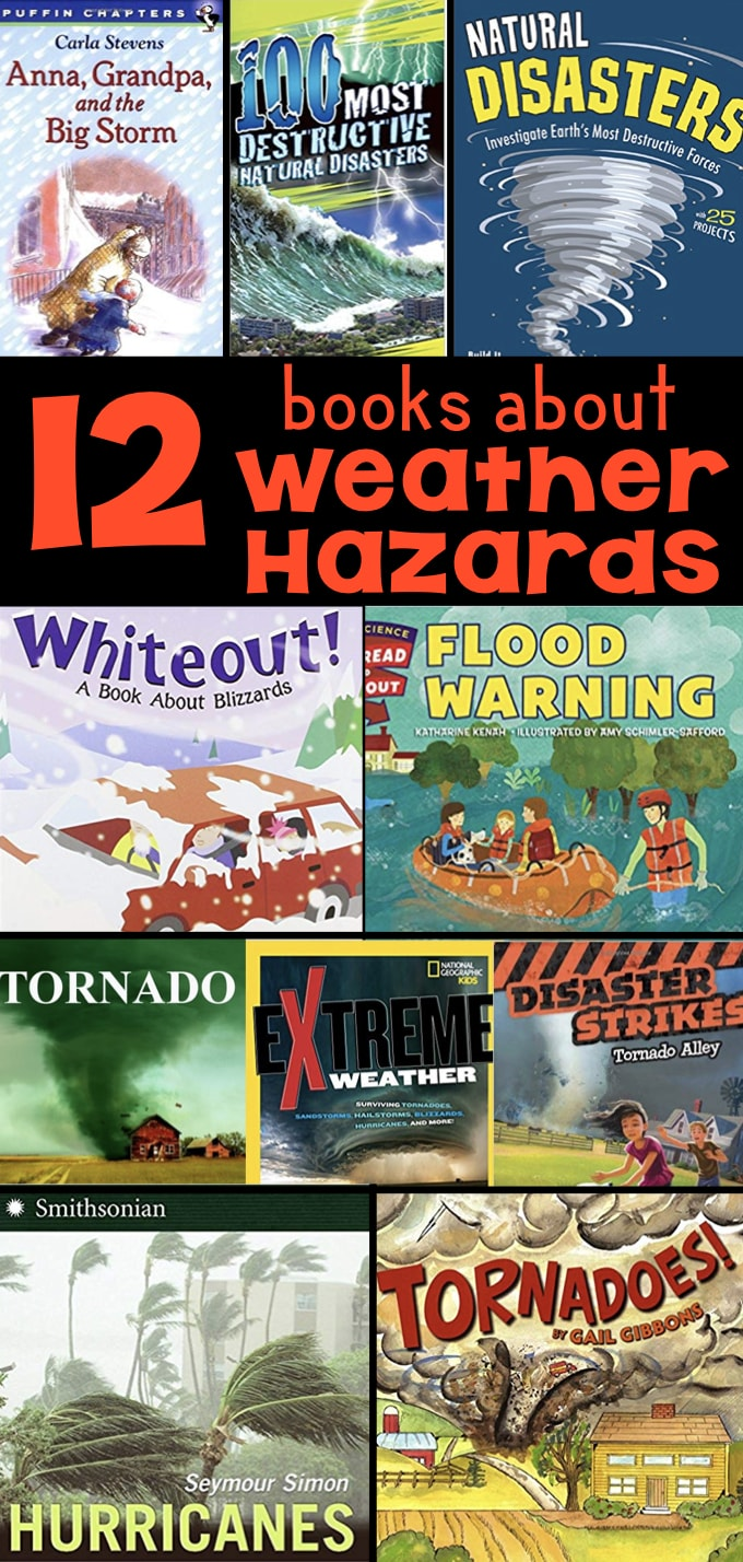 hight resolution of 12 Books about Extreme Weather Hazards for Elementary Students