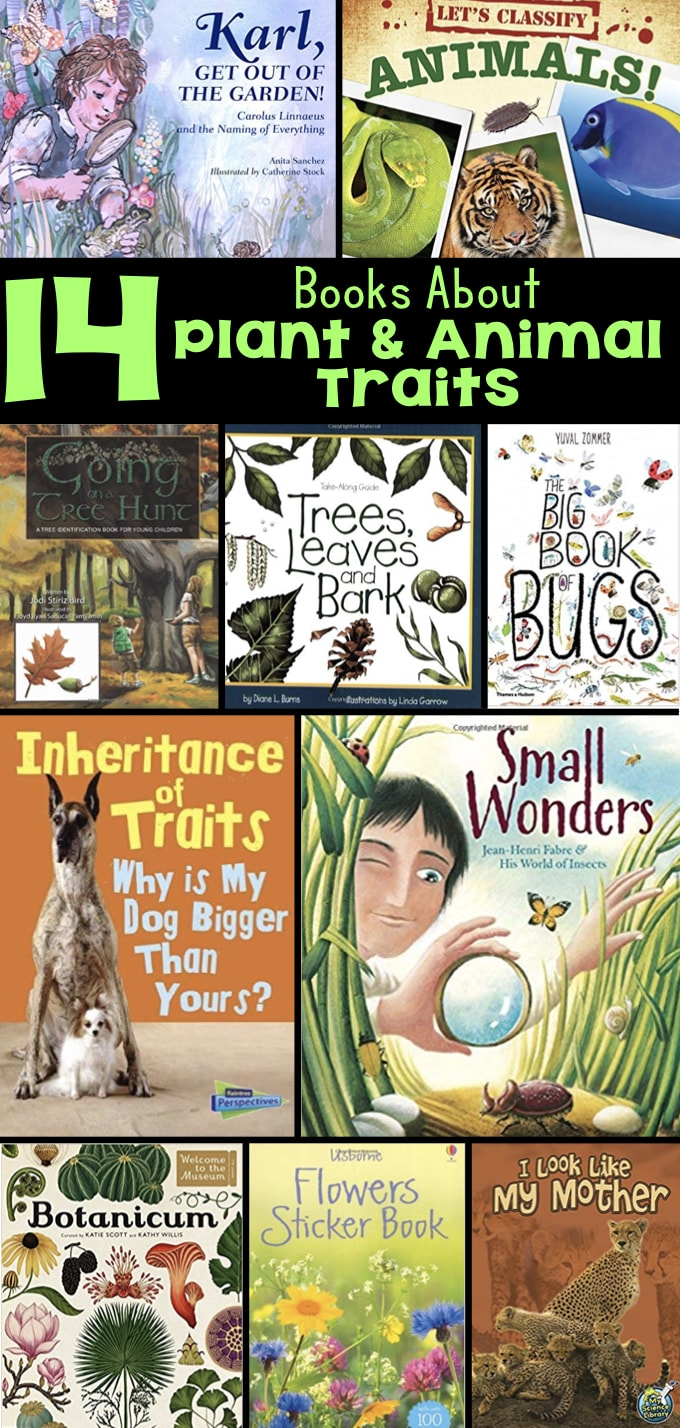 hight resolution of Books about Animal Traits for Elementary Students