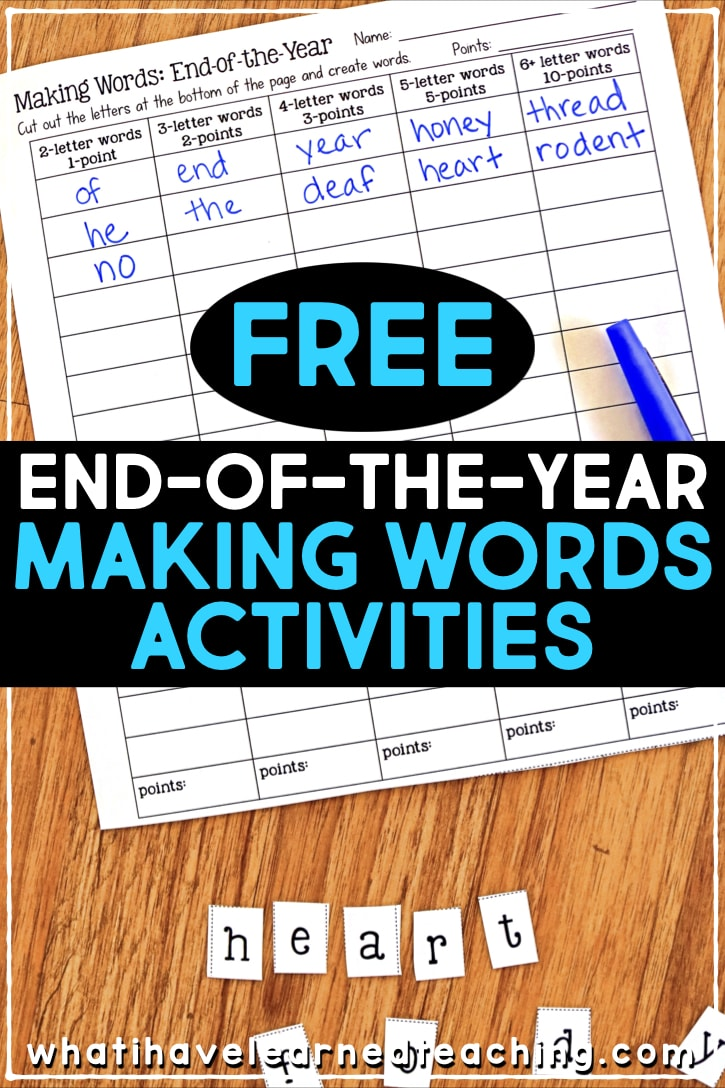 medium resolution of End-of-the-Year Memory Book \u0026 Activities
