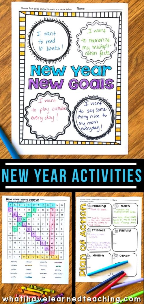 small resolution of New Year Activities for Elementary Students