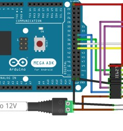 scorbot arduino one driver fritzing sketch [ 1974 x 804 Pixel ]