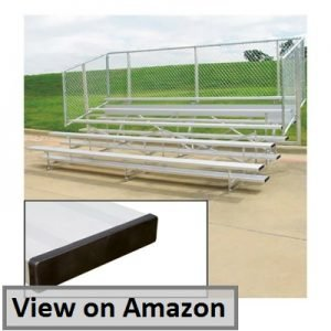 Five-Row Spectator Bleachers