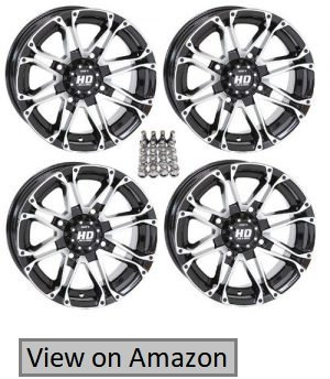 STI HD3 ATV Wheels Rims Machined 12 Polaris Sportsman RZR Ranger
