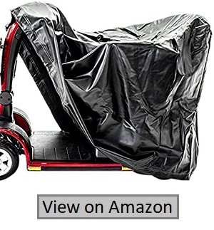 Challenger Mobility CMC-312 Cover For Pride Scooter, Drive Medical, Deluxe Vinyl Lightweight, Weather Resistant, Medium