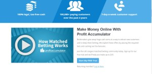 is matched betting legal