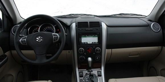 Suzuki Grand Vitara Urban Navigator interior