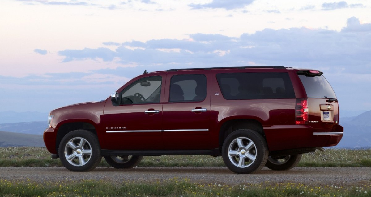 Chevrolet Suburban 2014 Review