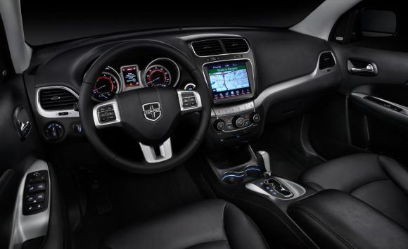 2014 Dodge Journey interior