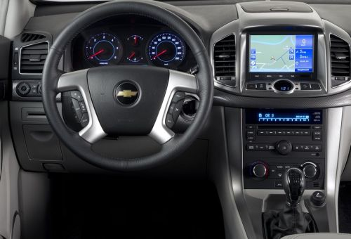 2015 Chevrolet Captiva interior