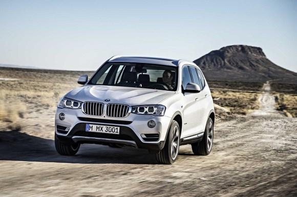2015 BMW X3 driving
