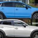 2018 Subaru SV Crosstrek vs 2017 Mazda CX-3