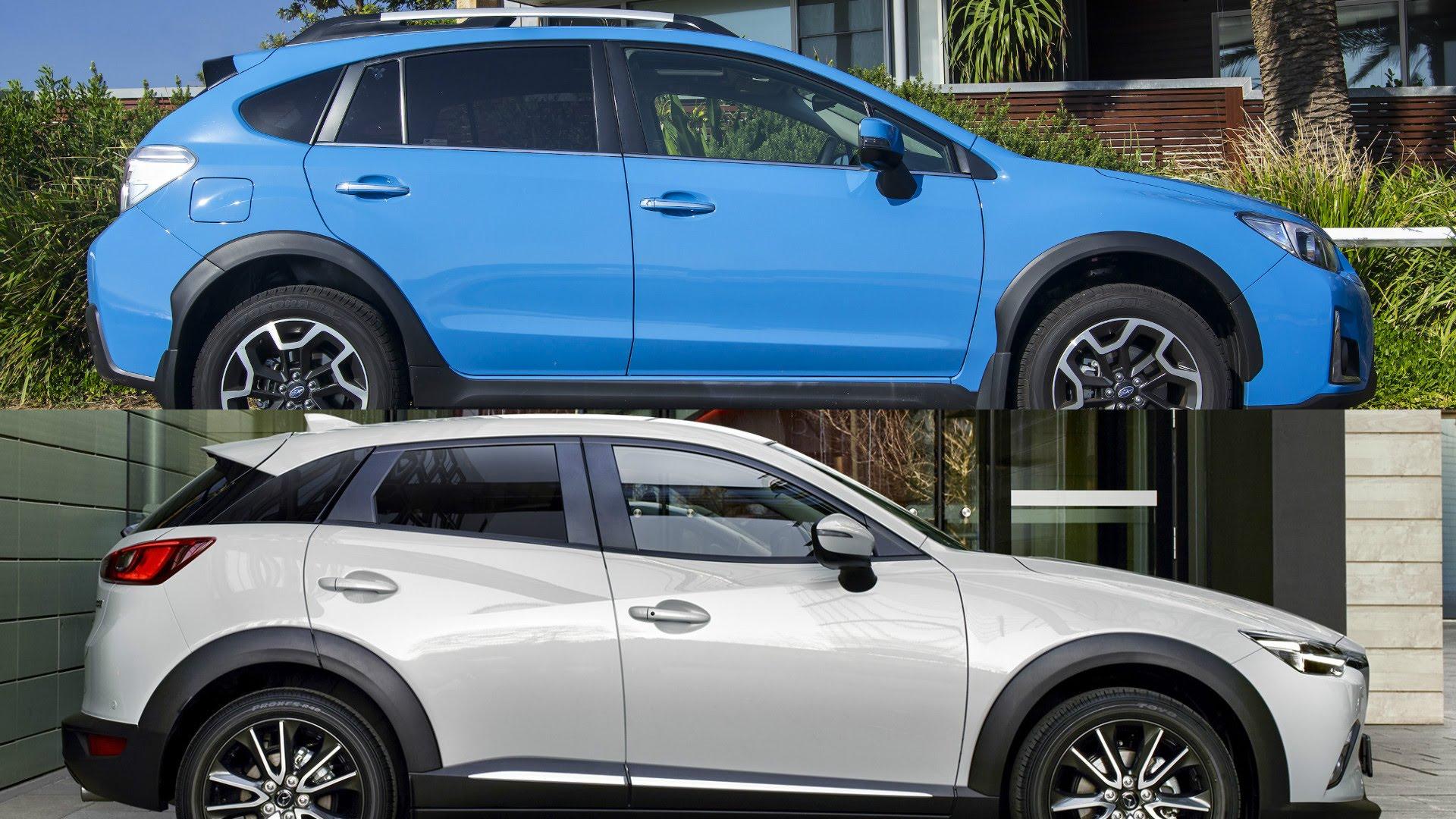 2018 Subaru SV Crosstrek Vs 2017 Mazda CX 3