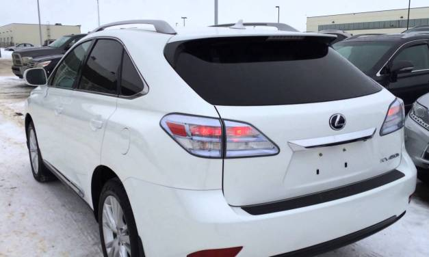 The 2012 Lexus RX 450h Hybrid SUV Is As Popular As Ever