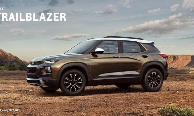 2022 Chevrolet Trailblazer – Quick Review And Trims